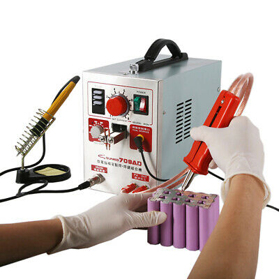 SUNKKO 709AD 15KVA High Power Battery Spot Welder & Soldering Station 110V