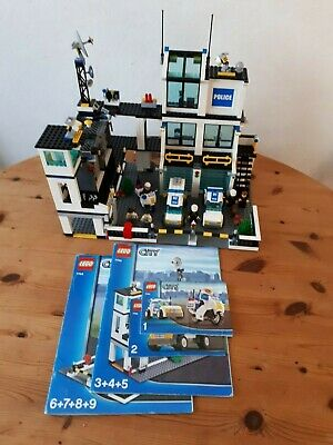 Lego City Police Station Helicopter Car Bike Toys 60141