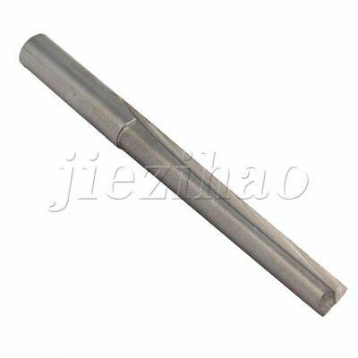 65mm Length Two Flute Straight Router Bits For Cutting 6mm Shank Dia