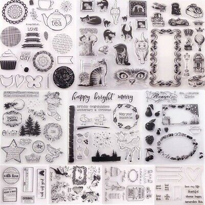 Shop For Cheap Fireworks Diy Silicone Clear Stamp Cling Seal Scrapbook Embossing Album Decor Math Sets