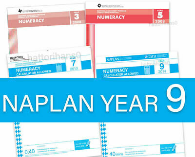 Latest NAPLAN Past Papers Year 9 with answers
