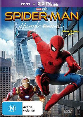 NEW SEALED Spider-Man - Homecoming (DVD + Digital) FAST FREE SHIPPING