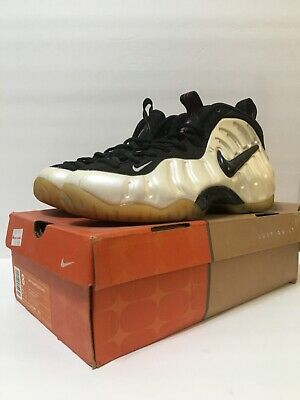 d64b7b5dd93 2002 NIKE AIR Foamposite Pro  Pearl  Shoes - 624041-101 Sz 6 Pre ...