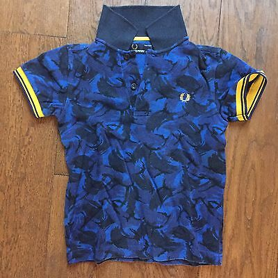 Fred Perry Camo Polo T-shirt / Kids - Age 5-6 Years / Height 116cm