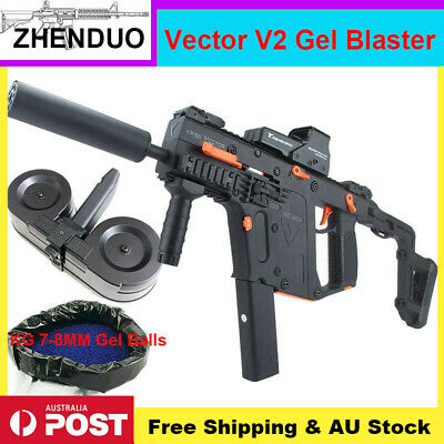 ZHENDUO Gel Ball Blaster LH Vector V2 Mag-fed Water Bullets Toy Gun AU Stock