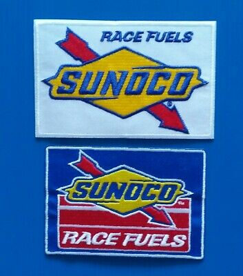 NEW 2 1/2 X 3 1/2 Inch Sunoco Race Fuels Iron On Patch Free