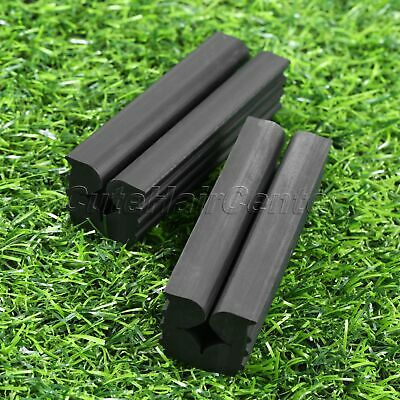 Black Rubber Vise Clamp Holds Club Firmly In Bench Vise Golf Club Use Golfer Aid