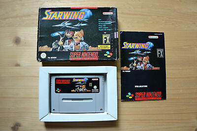 SNES - Starwing - (OVP, mit Anleitung)