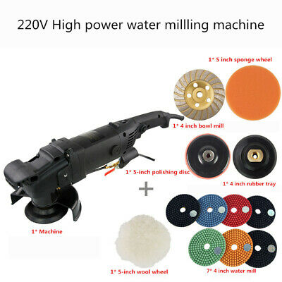 220V Electric stone water injection polishing machine water millling machine Y