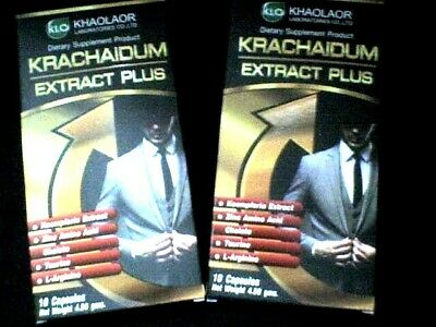Sex Enhancer Krachaidum Extract Plus Strong 2x10 caps Harder Longer Erection