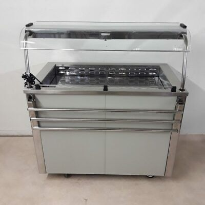 Commercial Chilled Display Fridge Glass Carvery Moffat VCRW3