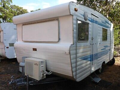 Viscount Ambassador 15Ft Caravan, Bunks, Annex, Air Con, Registered