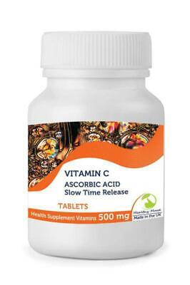 Vitamin C 500mg Slow Time Release 30 Tablets Britisch