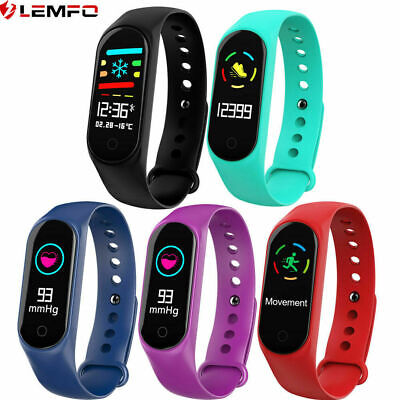 Lemfo M3 Miband Bracciale donna intelligente Smart Band Watch For Android iOS