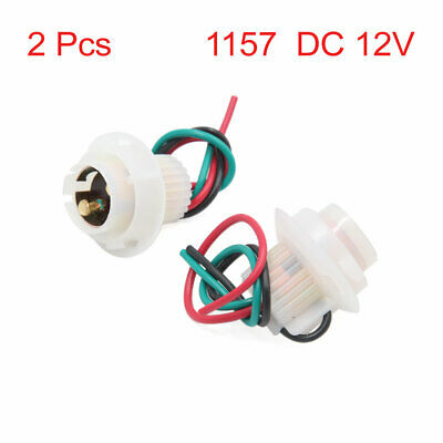 replacement parts uxcell 5pcs 1157 brake light bulb wiring harness socket  connector 12v-36v for car automotive