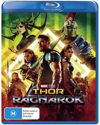 NEW SEALED Thor 3: Ragnarok (Blu-ray) BD Region B FAST FREE SHIPPING