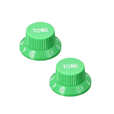 Green 6mm Potentiometer Knobs For Electric Guitar Acrylic Volume Tone Knobs 2pcs
