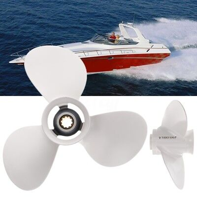 9 7/8x11 1/4 Aluminum Boat Outboard Propeller For Yamaha 20-30HP