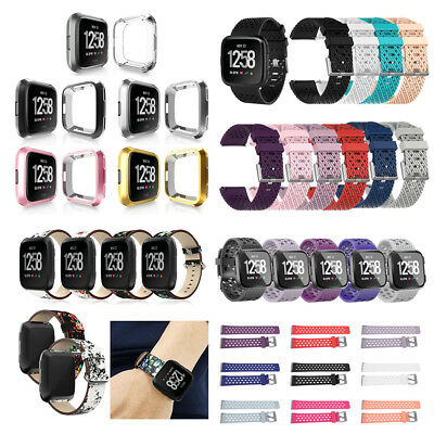 Various Replacement Silicone Sport Wrist Band Strap For Fitbit Versa Smart Watch
