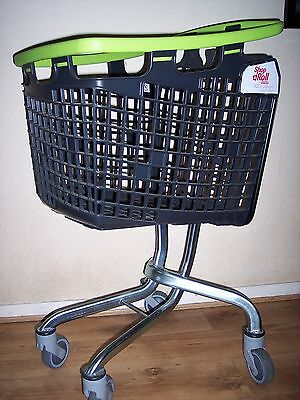 Wire & Plastic Shopping Trolley Baskets