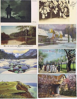 Germany 1902-1957 Collection of used and unused postcards