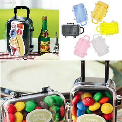0827 Mini Candy Boxes Travel Suitcase Shaped Cookie Boxes