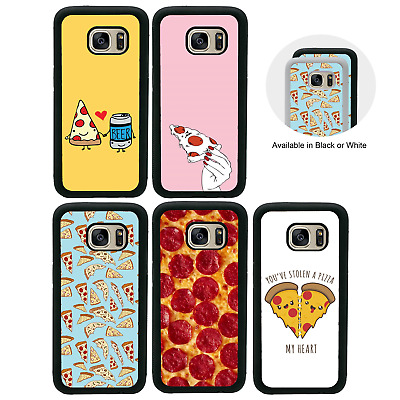 Pizza Bumper Case for Samsung Galaxy S6 S7 EDGE S8 S9 PLUS Cover
