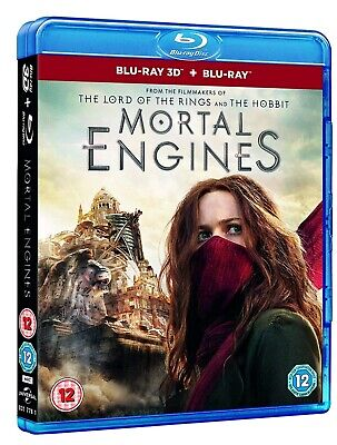 Mortal Engines (Bluray 3D) Includes 2D Bluray