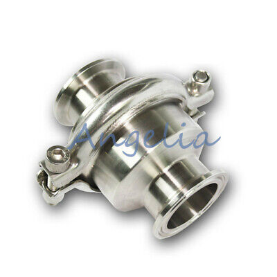 """2-1/2"""" OD 77mm Stainless Steel 304 Tri-Clamp Vertical Sanitary Check Valve"""