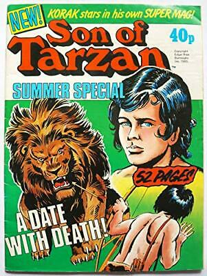 Vintage Very Rare The Sun of Tarzan Summer Special Comic Magazine