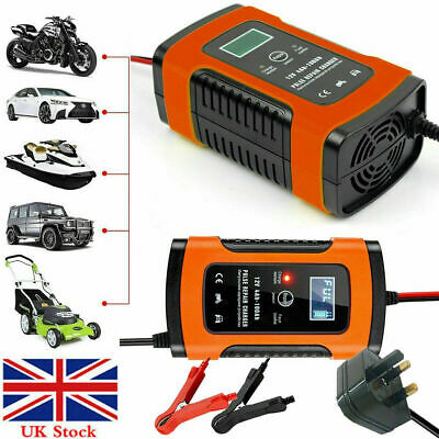 Intelligent Motorcycle Motorbike UPS Battery Charger Automatic Smart Trickle 12V