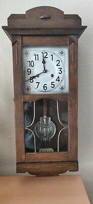 Antique Art Deco  Junghans Wall Clock made in Germany