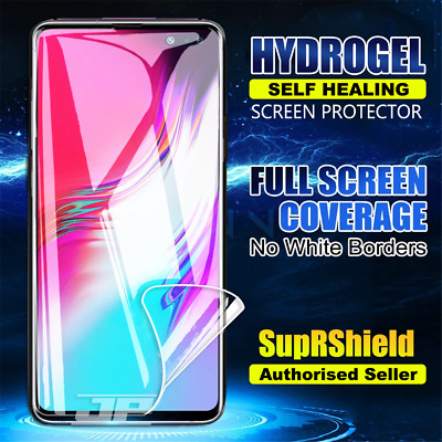 SupRShield New Samsung Galaxy S10 5G 6.7 HYDROGEL Full Coverage Screen Protector