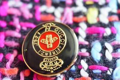 ❤GUCCI  BUTTON 1 Pieces SIZE 0,8  INCH 20  MM BROOCH