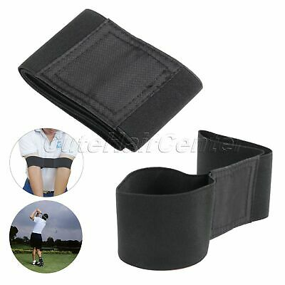 Utility Golf Swing Gesture Practice Aids Elbow Support Brace Arm Band Trainer