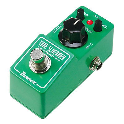 Ibanez TS Mini Tube Screamer Guitar Overdrive Pedal TSMINI