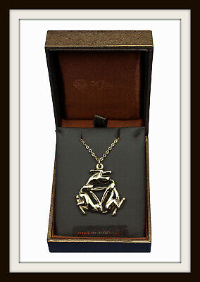 Bronze Age ~ Three Hares ~ Celtic Pendant Necklace ~ From St. Justin Free P&p