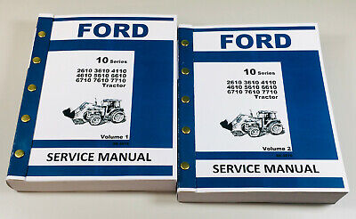 FORD 745 TRACTOR REPAIR SERVICE MANUAL shop overhaul 1965