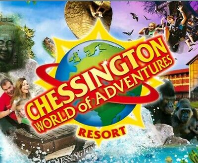 Chessington !!! Discounted to £25.58 per person any day *** Fast Del ***