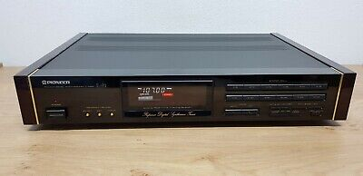 Pioneer F-91 High-End AM/FM Urushi Design Reference Tuner *Excellent - RARE*