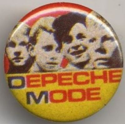 Depeche Mode Badge Button #004ENTWINED