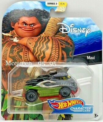 2019 Hot Wheels Disney Pixar Character Cars Series 3 MAUI #6/6
