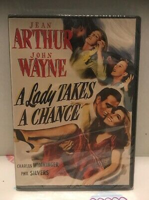 A Lady Takes A Chance [DVD] New and Factory Sealed Free Shipping in USA