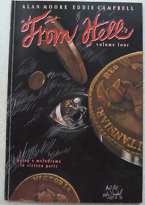 FROM HELL Volume Four - Alan Moore, Eddie Campbell - Mad Love - 1994