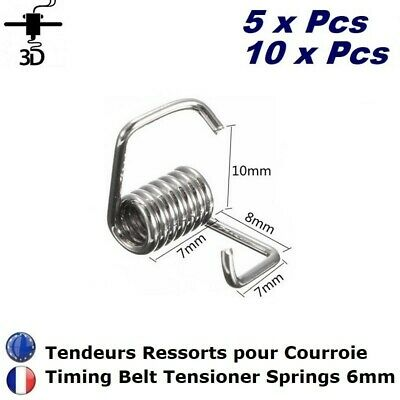 Lot Ressort tendeur pour Courroie Imprimante 3D Printer Belt Tensioner Spring