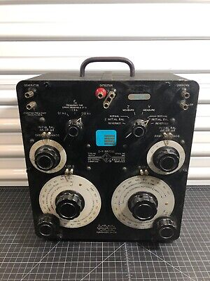 General Radio Gr Genrad 1603-A Z-Y Audio Wide Impedance Test System Lcr Bridge