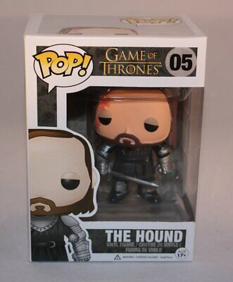 Funko Pop Game Of Thrones The Hound 05 Sandor Clegane Vinyl Figure New Vaulted