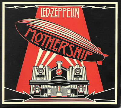 Led Zeppelin Mothership 2 CD Double Album Greatest Hits Very Best Of Collection