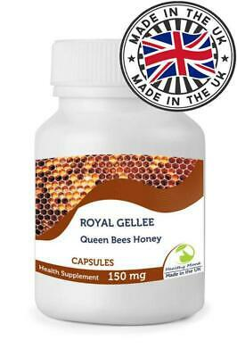 Bumble Bee Honey 150mg 90 Capsules Health Supplements Fresh Queen Royal Jelly Ge