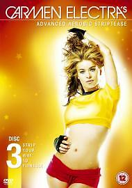 Carmen Electra's Advanced Aerobic Striptease (DVD, 2005)